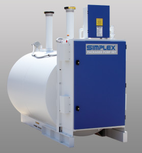 Simplex Tank Pump Package