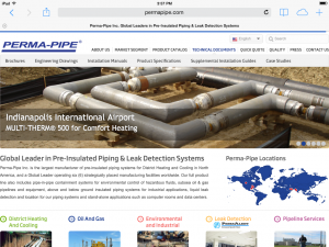 Perma-Pipe Website